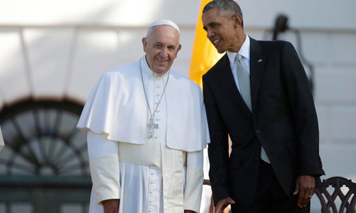 GOP's double rejection: Obama heads to Havana, Pope calls Trump's wall un-Christian
