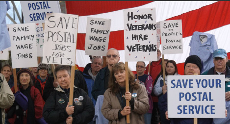 USPS hiring freeze hurts veterans, postal workers say