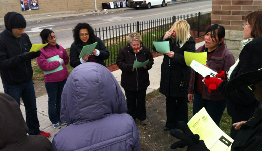 Interfaith group urges vigils for Walmart supply chain workers
