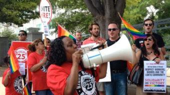 Unions celebrate LGBTQ progress, say challenges remain