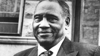 Paul Robeson fought Jim Crow, lynching, and McCarthyism