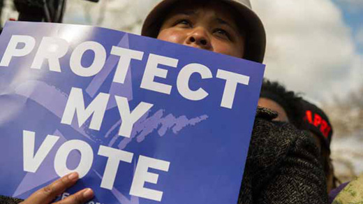 Canadians fight voter suppression efforts