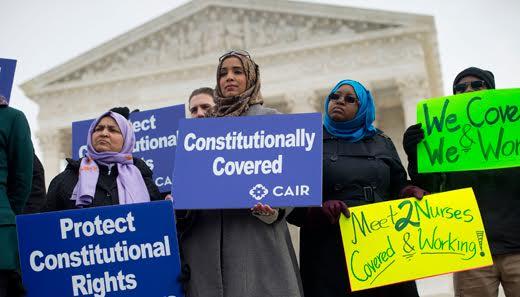Supreme court rules vs. employer discrimination by religion