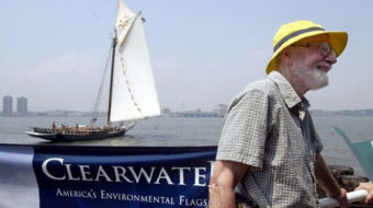 Pete Seeger's green activism in New York and New Jersey