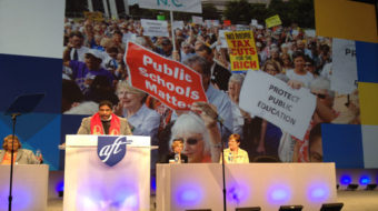Moral Monday leader a hit at AFT convention