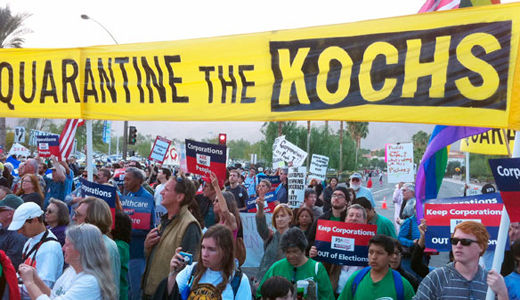 Koch brothers can't conceal their love for Scott Walker