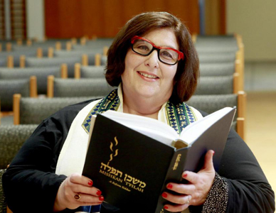 In women's history month: Lesbian rabbi leads Reform Jewish profession