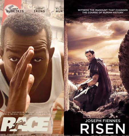 """Race"" and ""Risen"": Two films, two very different kinds of hero"