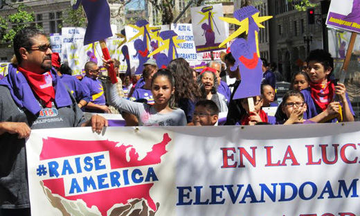 Even before new $15/hour minimum wage signed, California workers celebrated