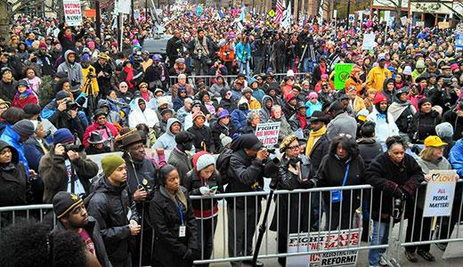 The sun shone on massive North Carolina Moral March