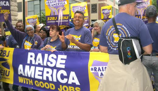 "SEIU members: ""When we fight, we win!"""