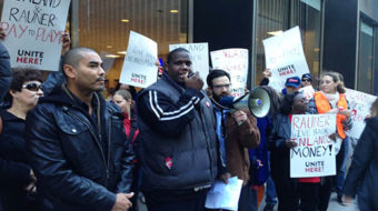 Chicago hotel workers to Bruce Rauner: Give back the money!