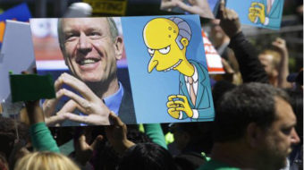 Thousands rally to denounce Illinois Gov. Rauner's anti-worker agenda