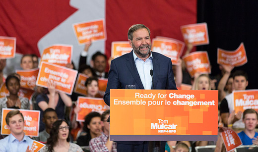 Canada's social democrats drop centrist leader, open debate on left-wing manifesto