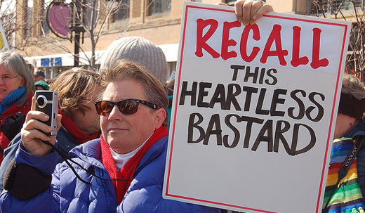 Walker recall campaign off to blazing start
