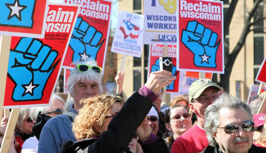 "Labor help critical to defeat Walker, ""fix Wisconsin"""