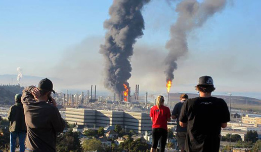 A year after Chevron explosion, the grassroots mobilizes