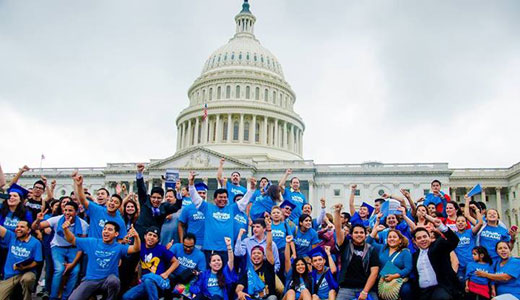 """Dreamers"" descend upon House to demand immigration reform"
