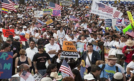 March For America to Congress: get moving on immigration reform