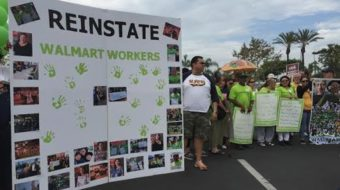 Reinstate all Walmart workers!