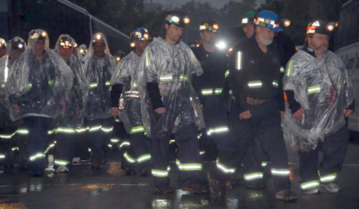 Miners' deaths increased in 2013