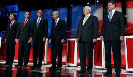 Hypocrisy is hallmark of GOP debates