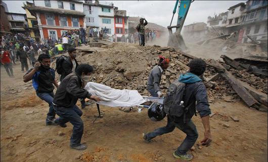 Nepal calls for help after nation-devastating quake