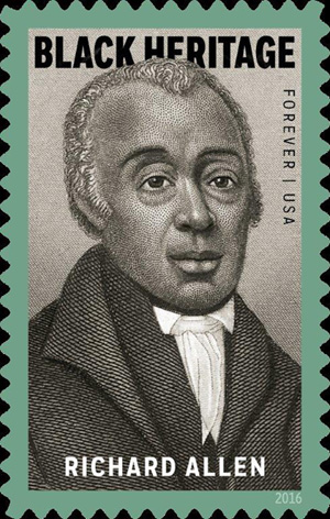 AME Church founder Richard Allen honored on a new stamp