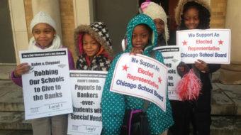 Chicago parents in 160 neighborhoods join teachers in demanding school resources
