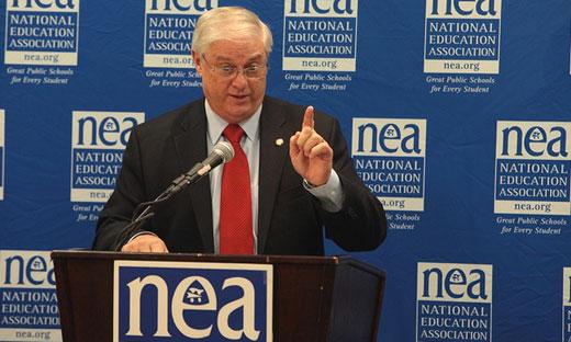 NEA votes $3 member fee for school improvement