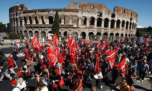 Massive labor actions rock Italy