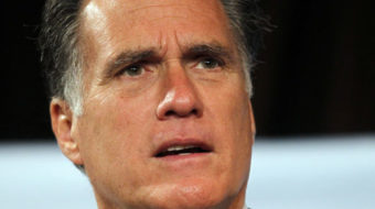 Romney comes to Michigan, bashing unions