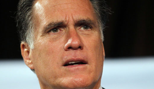 Romney comes to Michigan, bashing unions