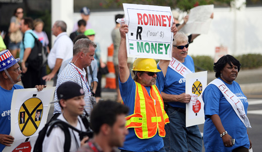 Romney repeats Republican lies