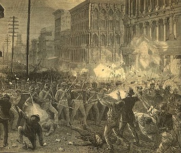 Today in labor history: Soldiers flee striking Pittsburgh workers