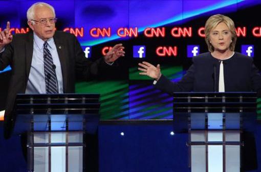 Wisconsin primaries: Democrats debate, Republicans fight dirty