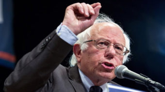 "Sanders says, ""Our revolution continues; support Hillary Clinton"""