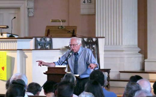 Sen. Bernie Sanders' momentum continues to surge