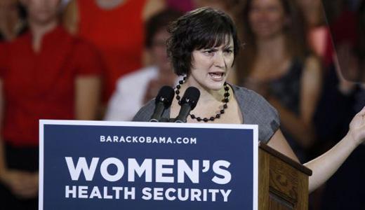 Sandra Fluke campaigning hard for Obama