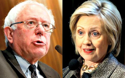 Clinton, Sanders meet top union leaders