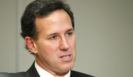 Rick Santorum is neither green nor good