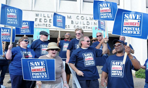 "Letter Carriers: Even Dem plans for postal ""reform"" fall short"