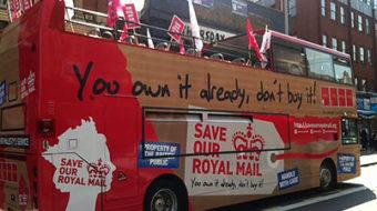 British postal unions slam privatization plan