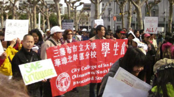 """""""I am San Francisco City College"""" – city rallies to save beloved institution"""
