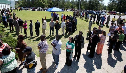 South Carolina GOP seek drug tests and benefit cuts for jobless