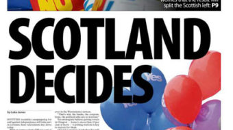 "Scotland: In the wake of referendum ""No"" result"