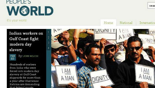 Peoplesworld job opening: Managing editor
