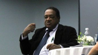 """Black Panther Party founder urges coalition building and """"community control"""""""