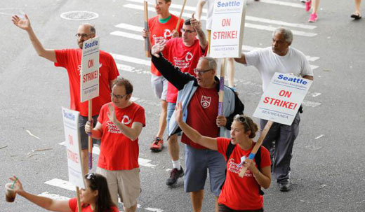 Seattle teachers suspend strike, vote Sept. 20 on contract