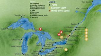 St. Lawrence Seaway opened June 26, 1959